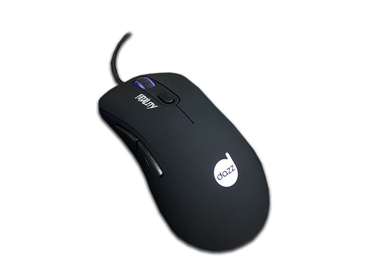 Mouse Gamer FATALITY USB - DAZZ