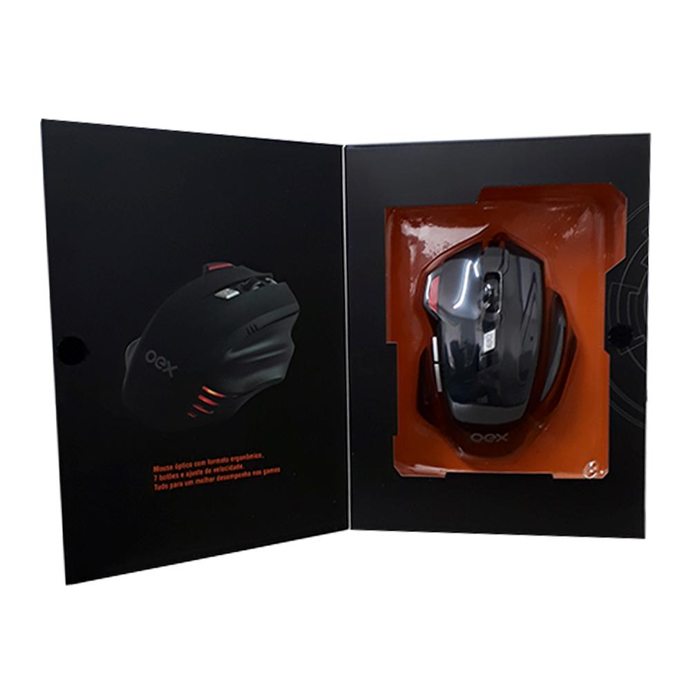 Mouse Gamer USB Fire MS304 - Oex