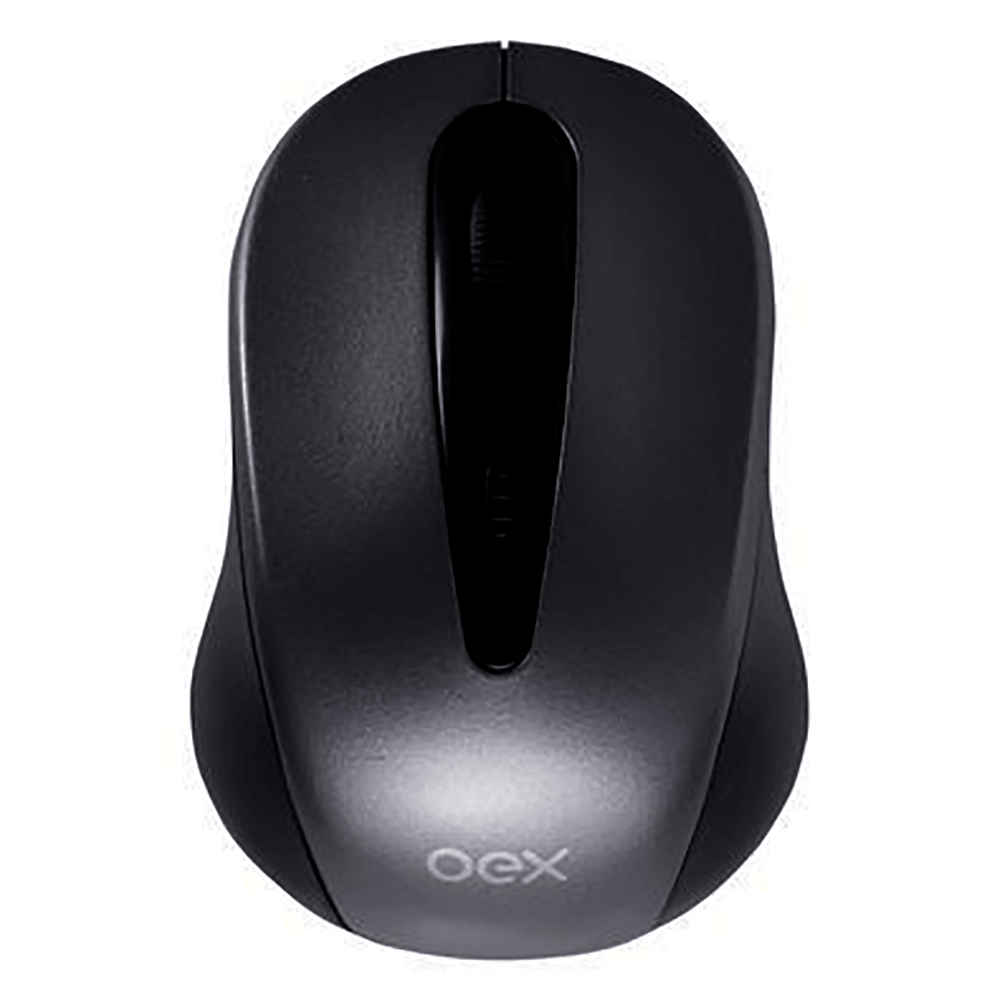 Mouse Stock preto MS408 - OEX
