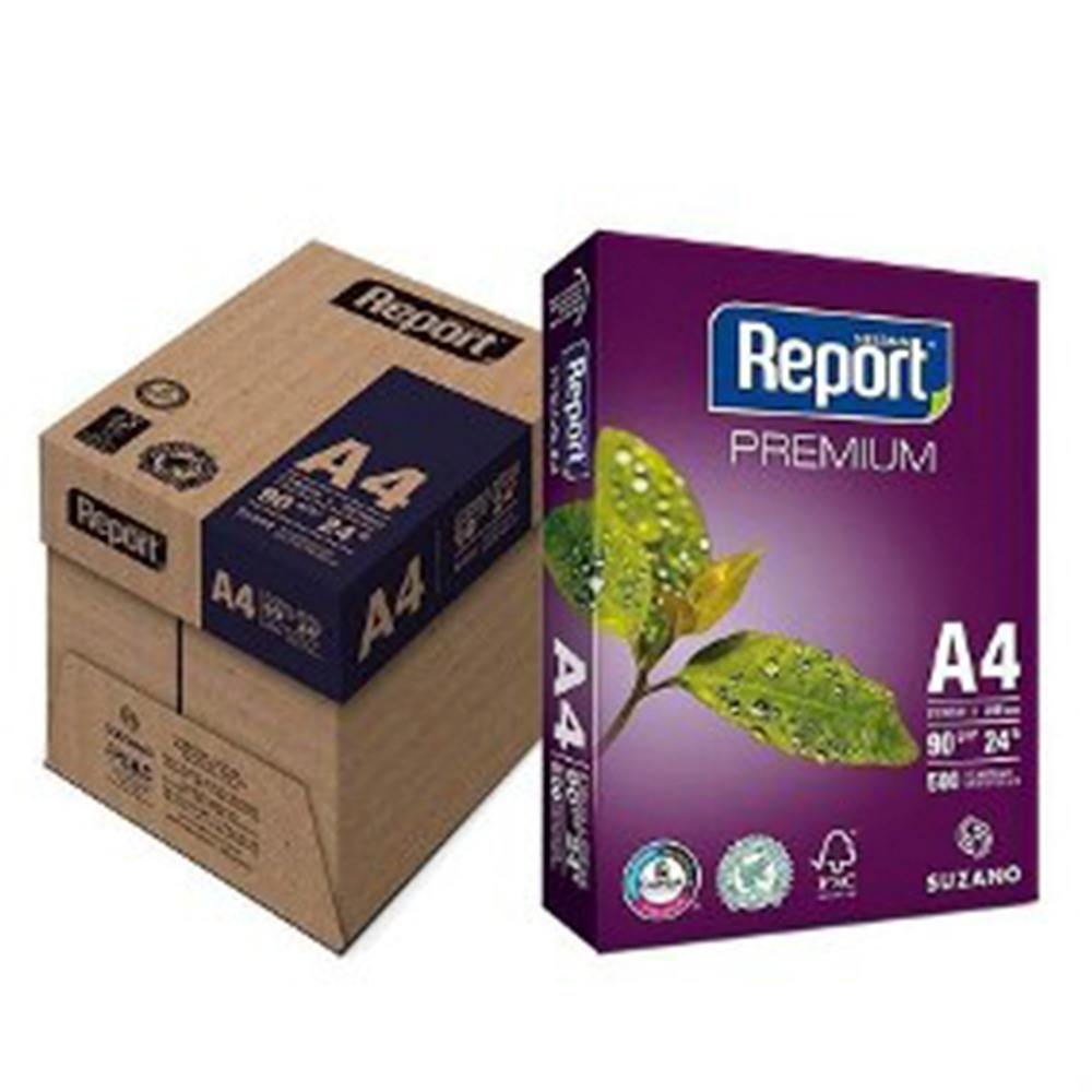 Papel Sulfite A4 90 gm² 500 Fls - Report