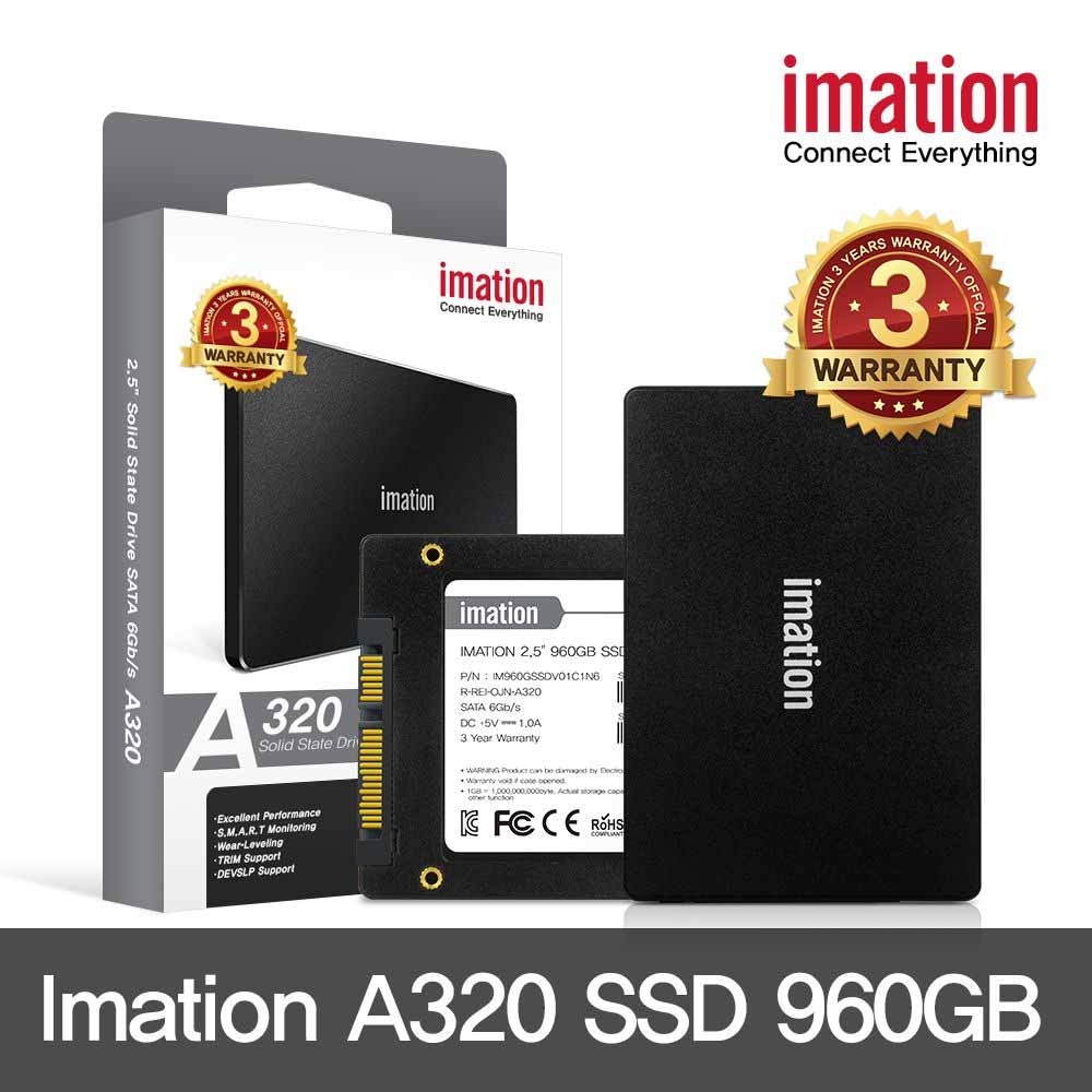 "SSD 2.5"" SATA III - A320 SSD 960GB - IMATION"