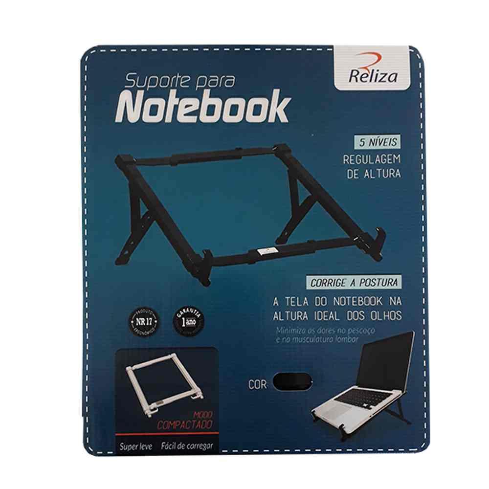 Suporte para Notebook c/ 5 Níveis de Regulagem - Reliza