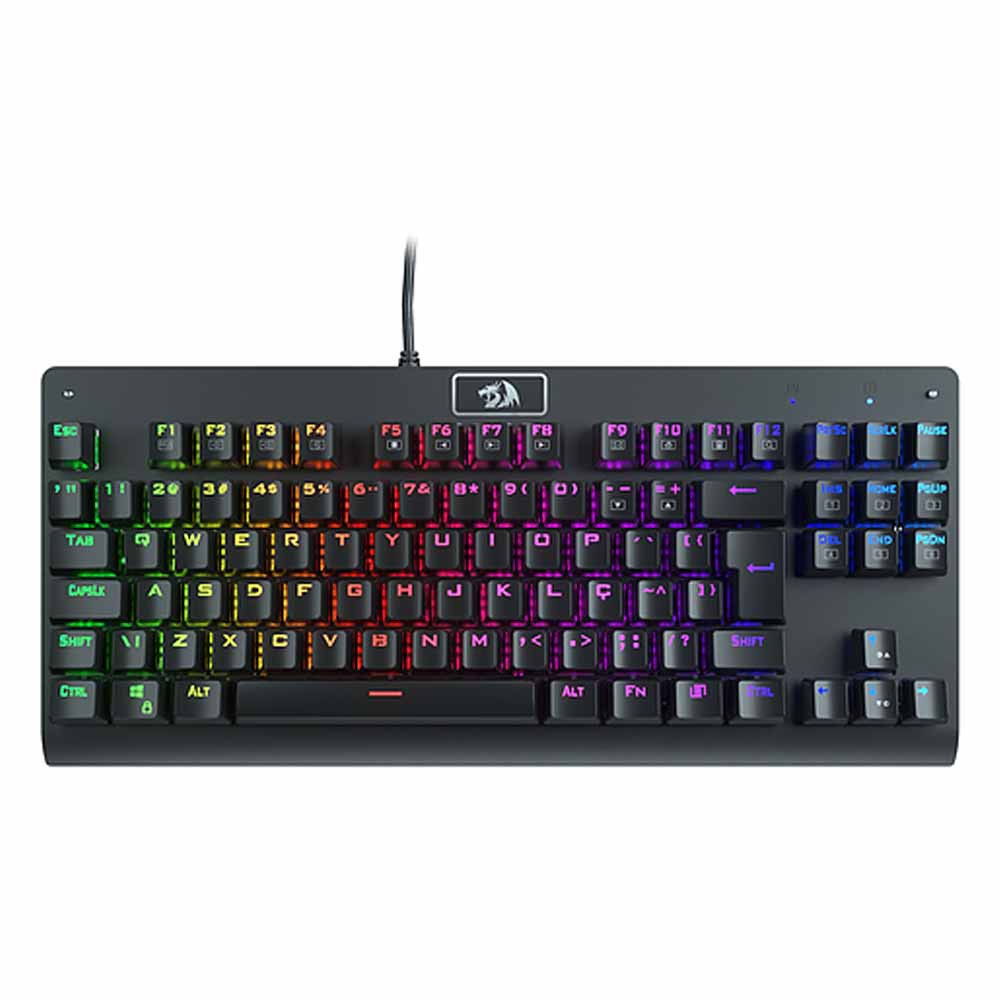 Teclado Gamer Mecânico DARK AVENGER RGB Switch Red - REDRAGON