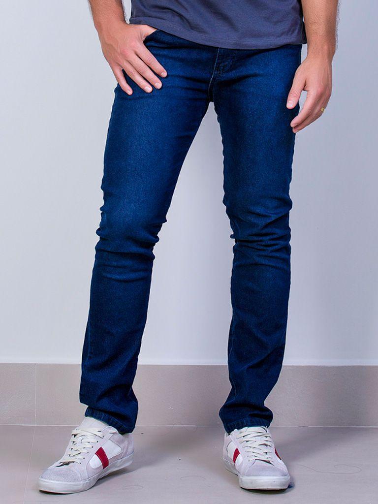 Calça Jeans Slim Elastano - 4257