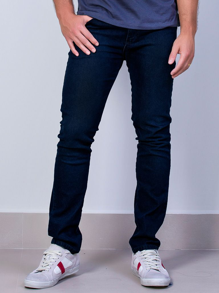 Calça Jeans Slim Elastano - 4258