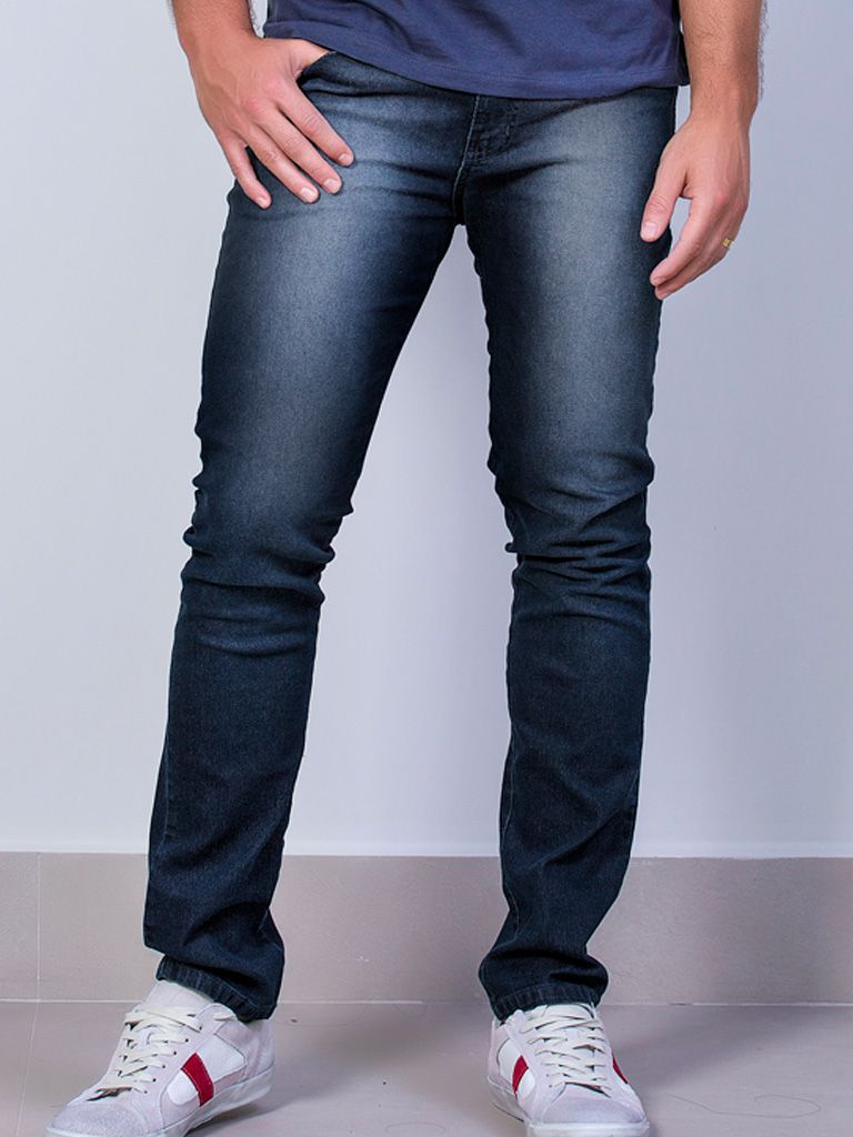 Calça Jeans Slim Elastano - 4261