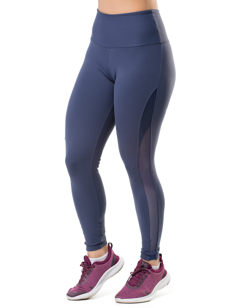 Calça Legging Elite Fitness Side Kick