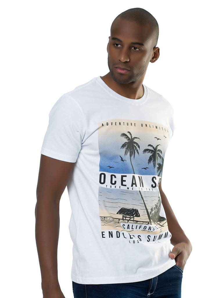 Camiseta Elite Casual Silk Taranto