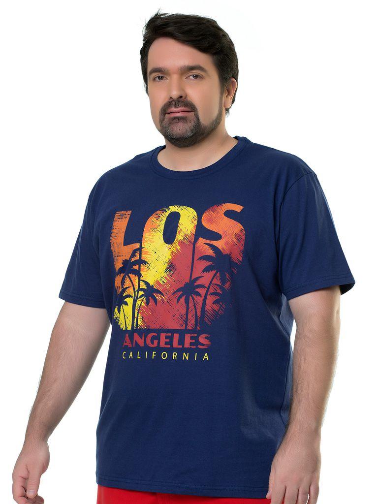 Camiseta Estampada Plus Size - 135036