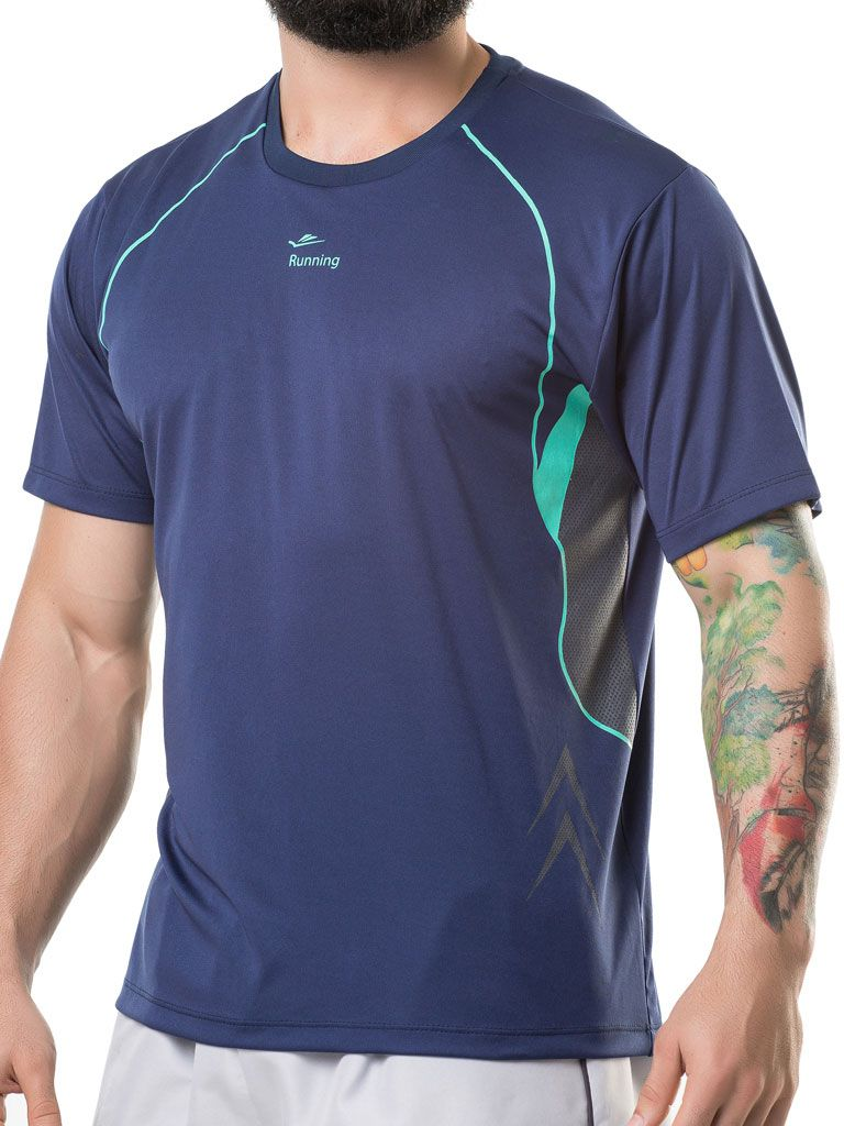 Camiseta Gola Careca Running - 125789