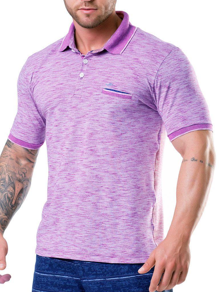 Camiseta Gola Polo c/ bolso - 125829