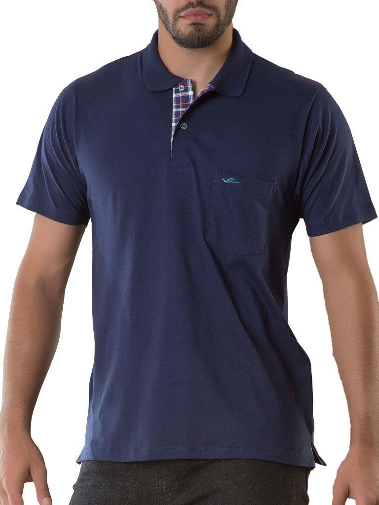 Camiseta Gola Polo com bolso - 125196