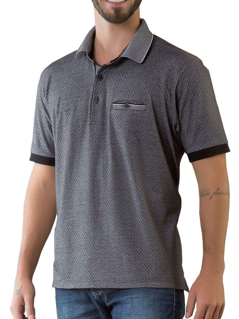 Camiseta Gola Polo com bolso - 125741