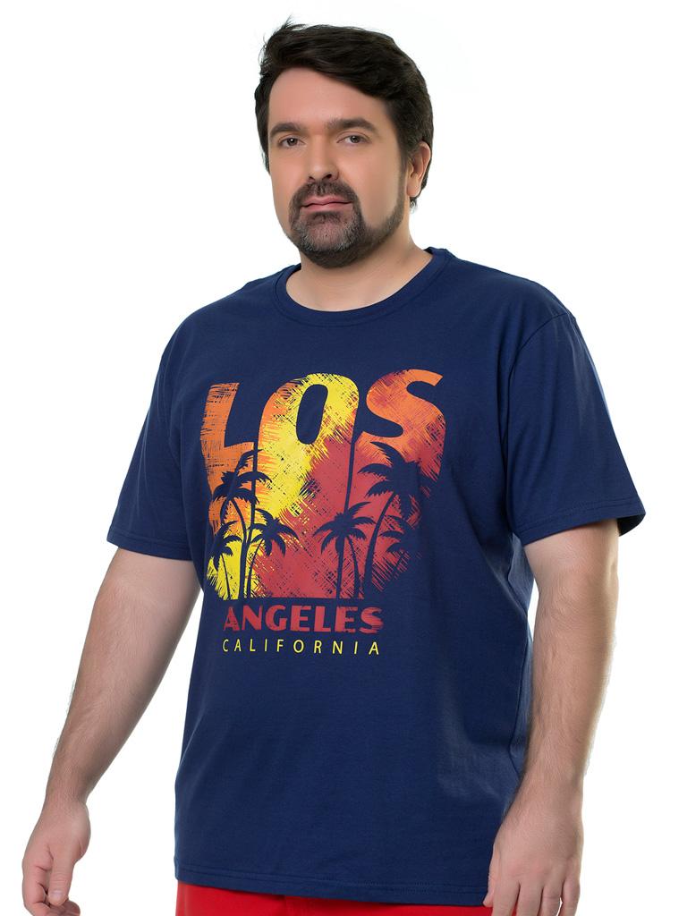 Camiseta Plus Size Elite Casual Silk Aprilla