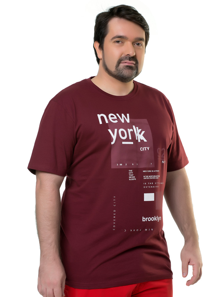 Camiseta Plus Size Elite Casual Silk Brindisi
