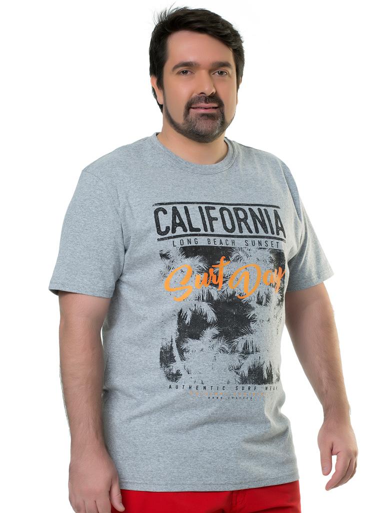 Camiseta Plus Size Elite Casual Silk Carpi