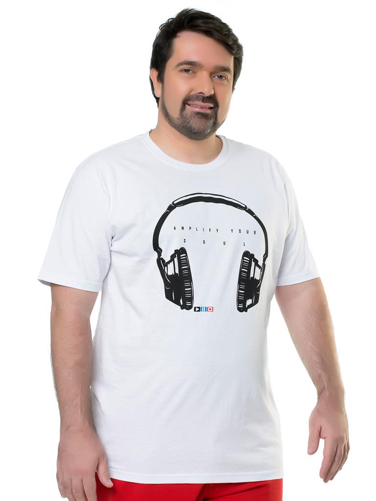 Camiseta Plus Size Elite Casual Silk Imola