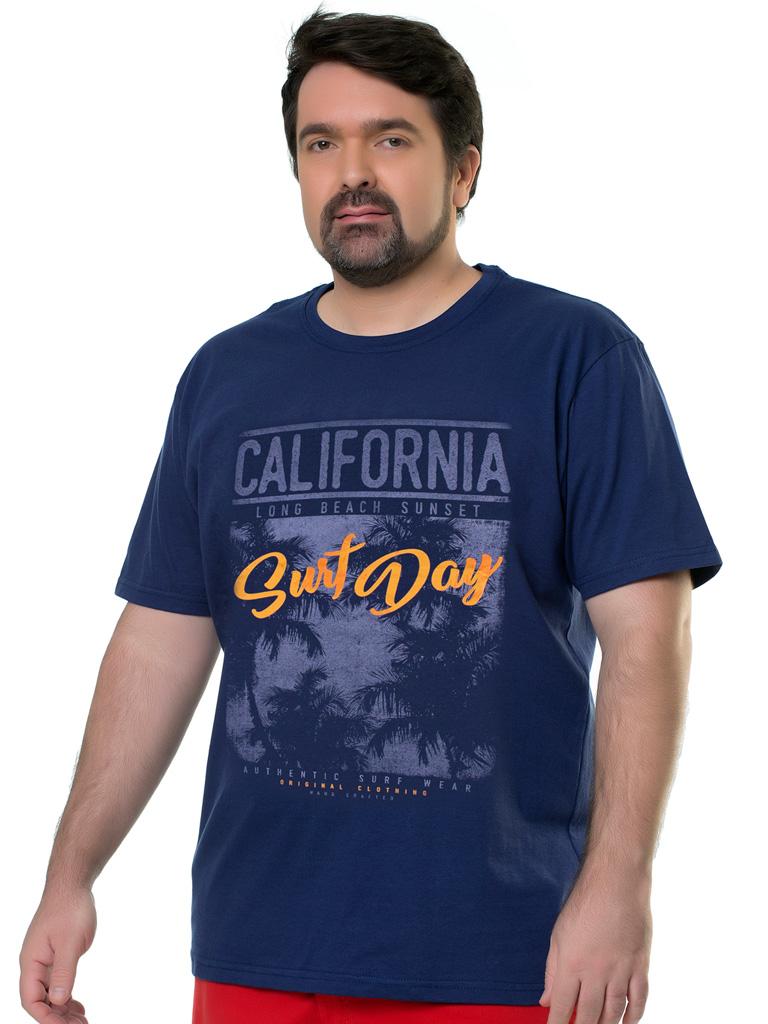 Camiseta Plus Size Elite Casual Silk Pavia