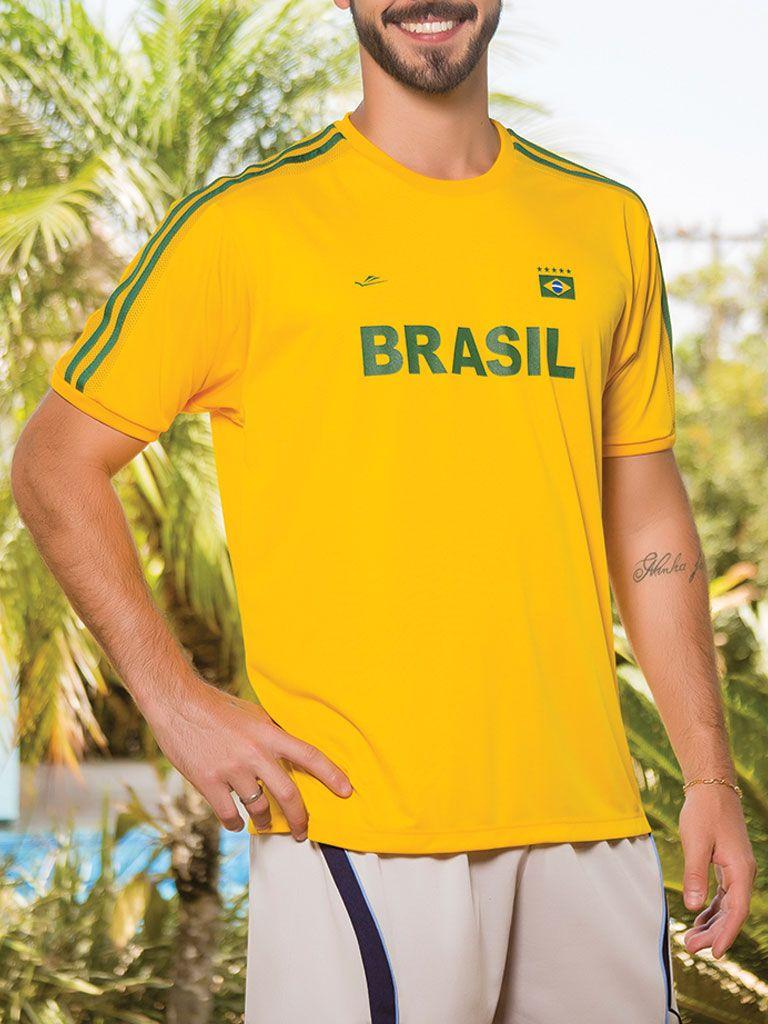 Camiseta Temática Brasil - 125703