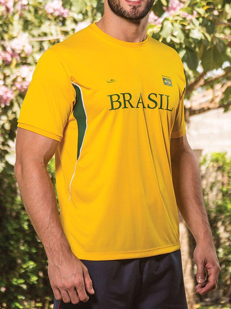 Camiseta Temática Brasil - 125704