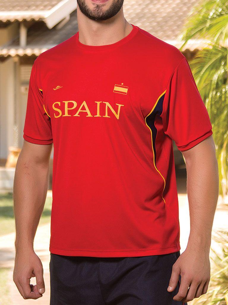 Camiseta Temática Espanha - 125710