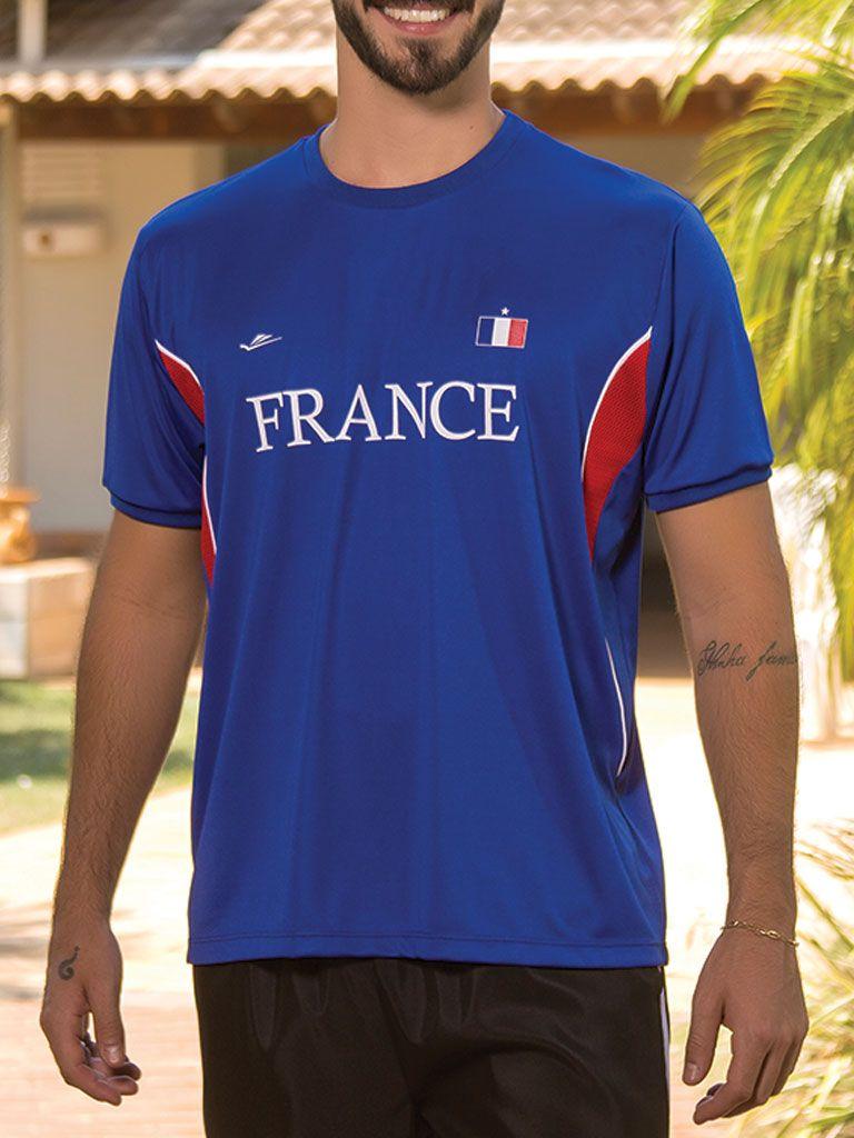 Camiseta Temática França - 125714