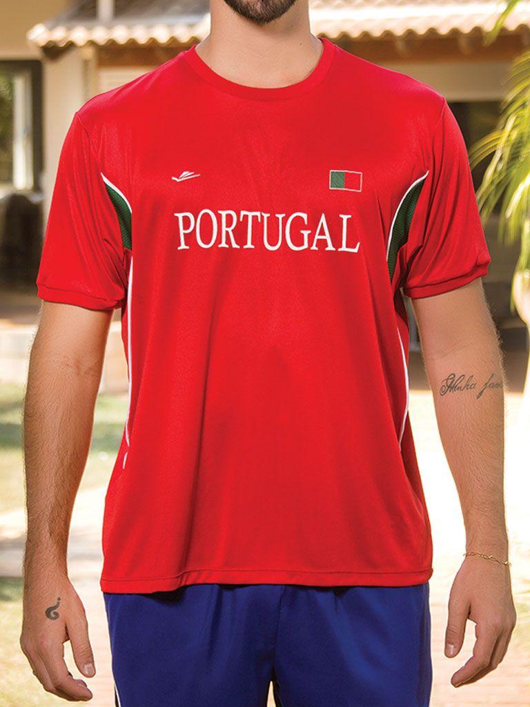 Camiseta Temática Portugal - 125706