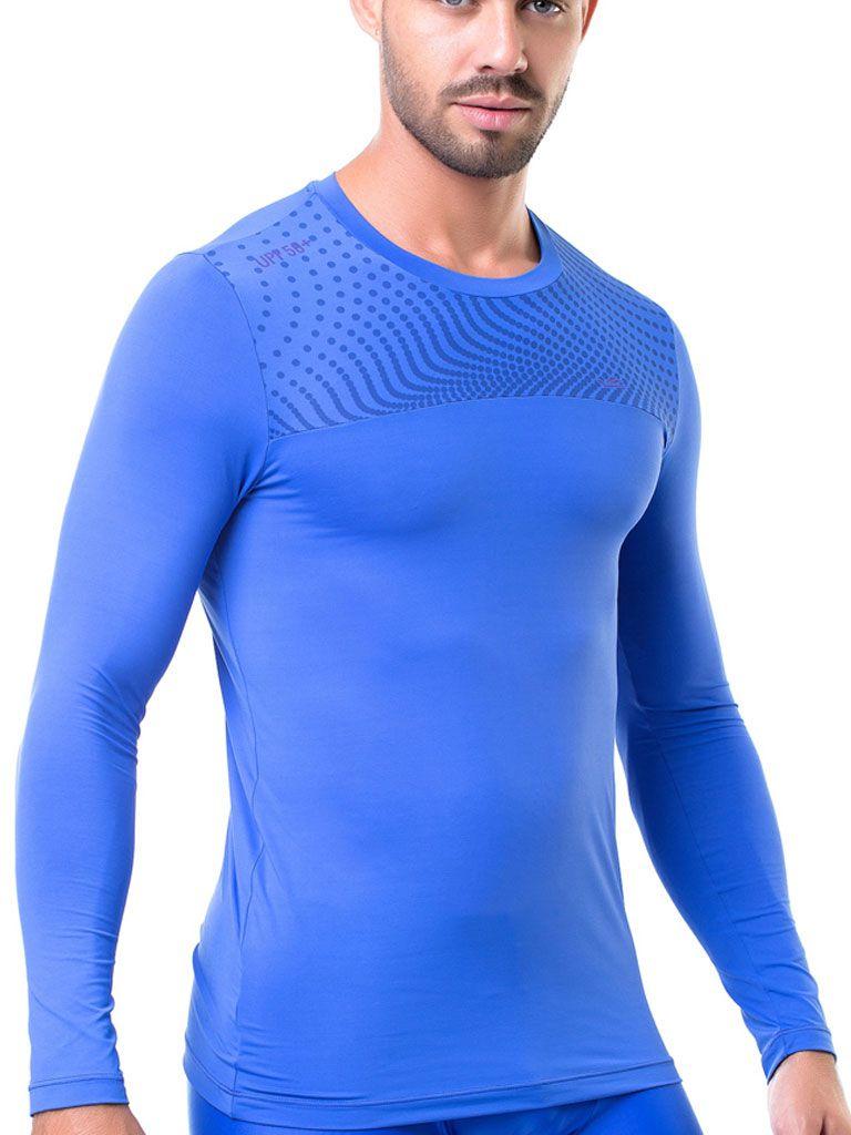 Camiseta Térmica Elite Manga Longa Uv 50 Esporte Sabadell