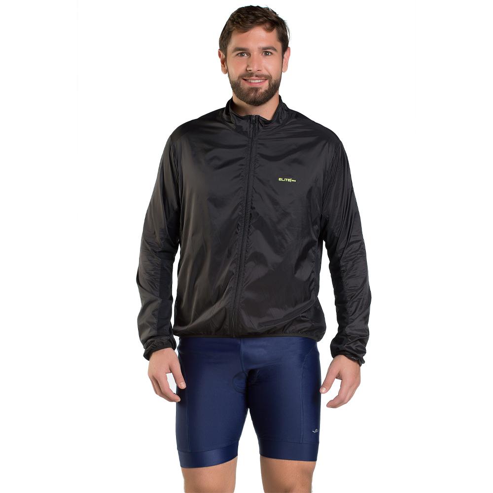 Jaqueta Corta Vento Ciclismo Masculino Elite