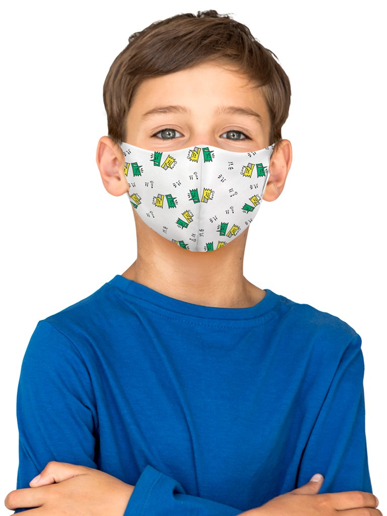 Máscara de Proteção Facial Infantil Dupla - 21078