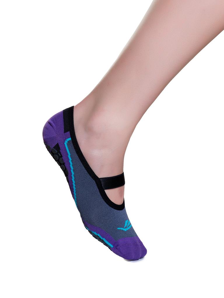 Meia Sapatilha Elite Hidro Pilates Esporte Legs