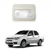 Lanterna De Teto Fiat Siena 2004 2005 2006 2007 2008 Cinza
