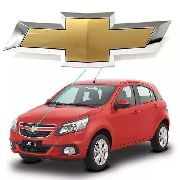 Emblema Grade Dianteira Agile 2011 2012 2013 2014 Dourado
