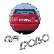 Emblema Traseiro 1.8 E Polo Mala Classic 97 98 99 2000 2001