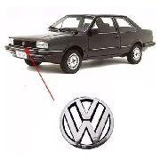 Emblema Grade Frente Cromado Volkswagen Santana 86 À 89 90