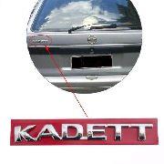 Emblema Cromado Traseiro Mala Traseira Porta Malas Kadett