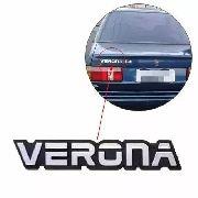 Emblema Verona Traseiro Porta Malas Tampa 93 94 95 96
