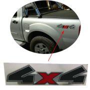 Emblema Adesivo Lateral 4x4 Ranger 2008 2009 2010 2011 2012