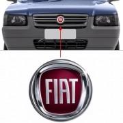 Emblema Dianteiro Fiat Uno Modelo 2008 Grade