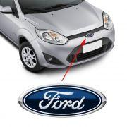 Emblema Dianteiro Ford Fiesta 2010 2011 2012 2013 Azul