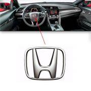 Emblema Do Volante Honda New Civic 2007 À 15 2016 2017 2018