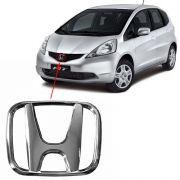 Emblema Grade Dianteira Honda New Fit 2009 à 2012 2013 2014