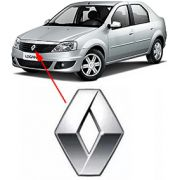 Emblema Grade Dianteira Renault Logan 2012 à 2014