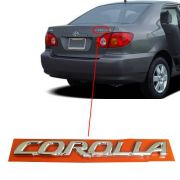Emblema Letreiro Cromado Corolla 2003 2004 2005 2006 2007