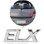 Emblema Letreiro Cromado Elx Palio 2001 à 2004