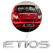 Emblema Letreiro Cromado Etios 2013 2014 2015 2016 2017 2018