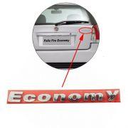 Emblema Letreiro Economy Traseiro Palio Cromado