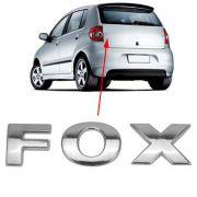 Emblema Letreiro Fox Traseiro 2004 à 2006 2007 2008 2009