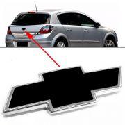 Emblema Preto Chevrolet Vectra 2010 2011 Traseiro