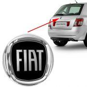 Emblema Preto Fiat Stilo 2008 2009 2010 2011 2012 Traseiro